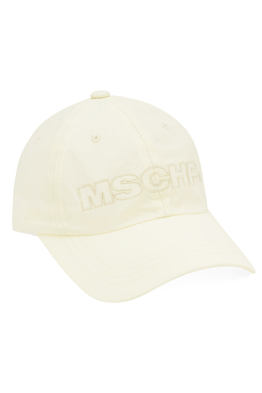 NYLON BALL CAP_ivory