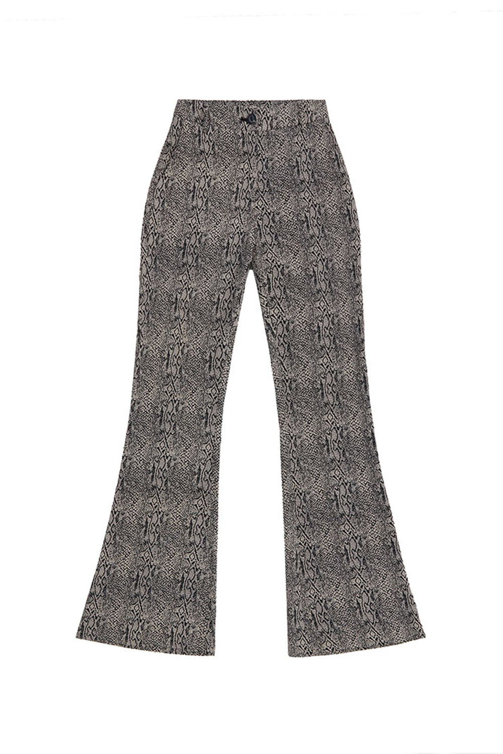 PATTERN SLACKS_black/white python