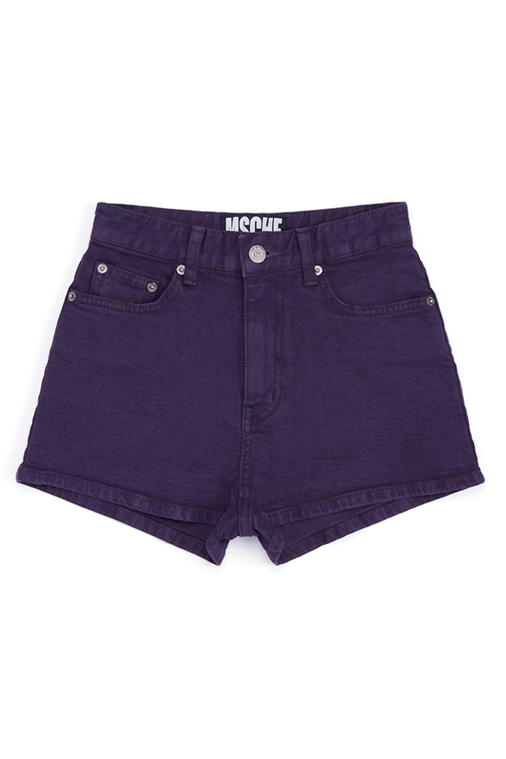 DENIM SHORTS_purple