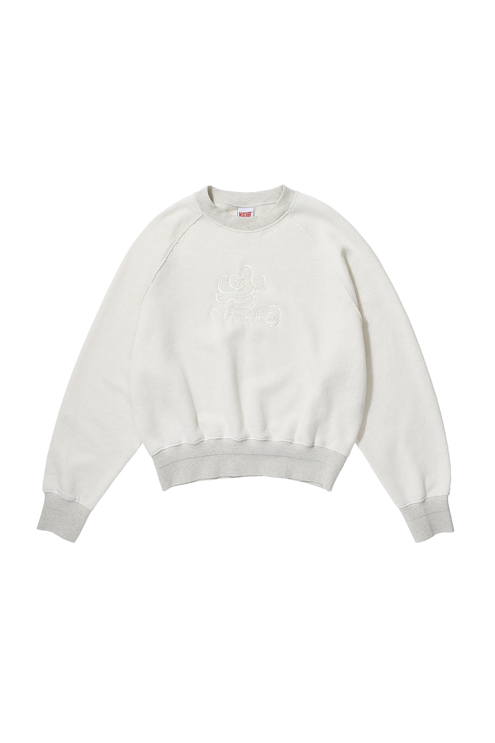ROSE CREWNECK_cream