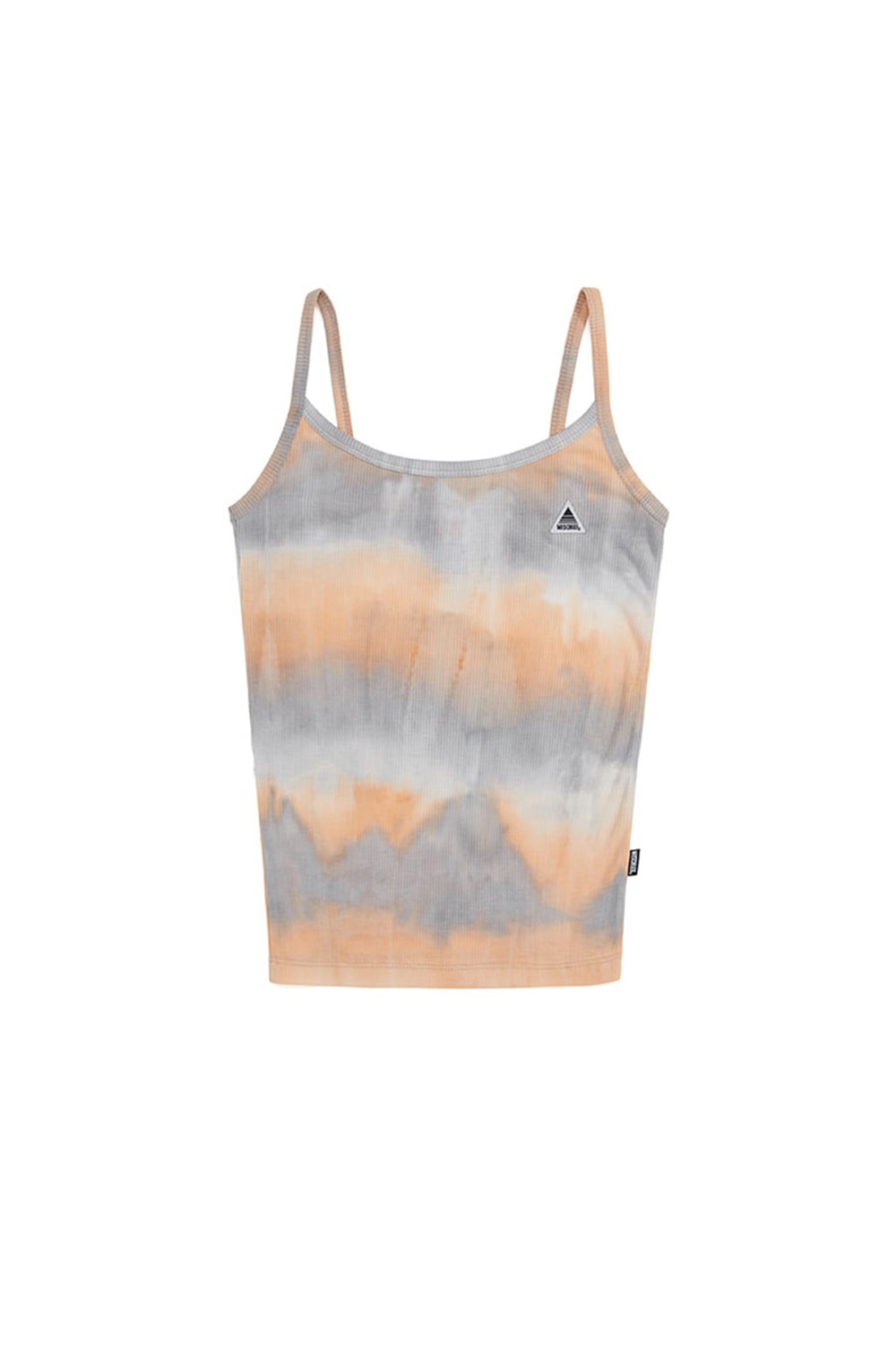 TIE-DYED CAMISOLE_sky blue/peach