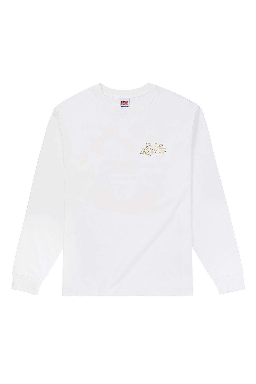 MSCHF_POPCORN LONG SLEEVE_white