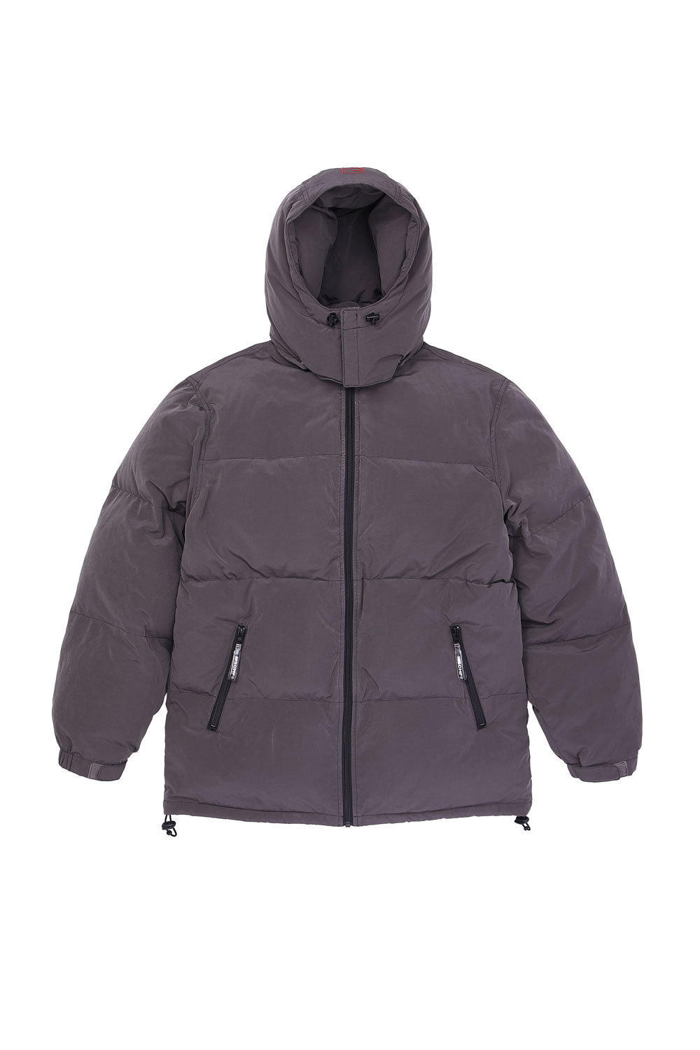 HOODED DOWN PARKA_gray