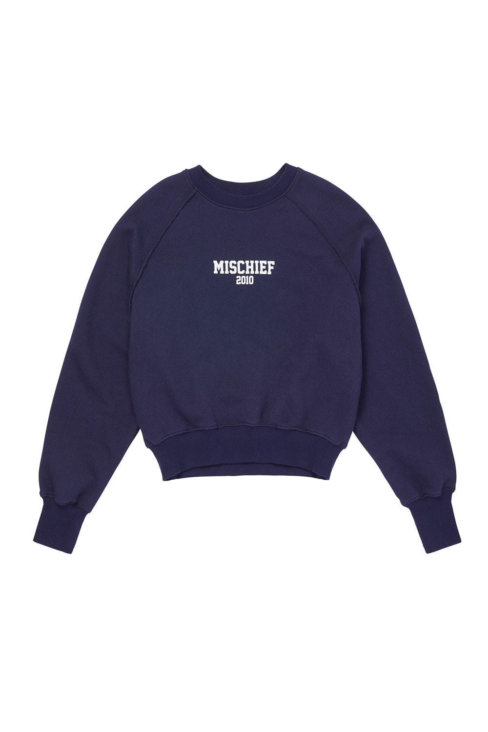 MSCHF 2010 CROPPED CREWNECK_navy