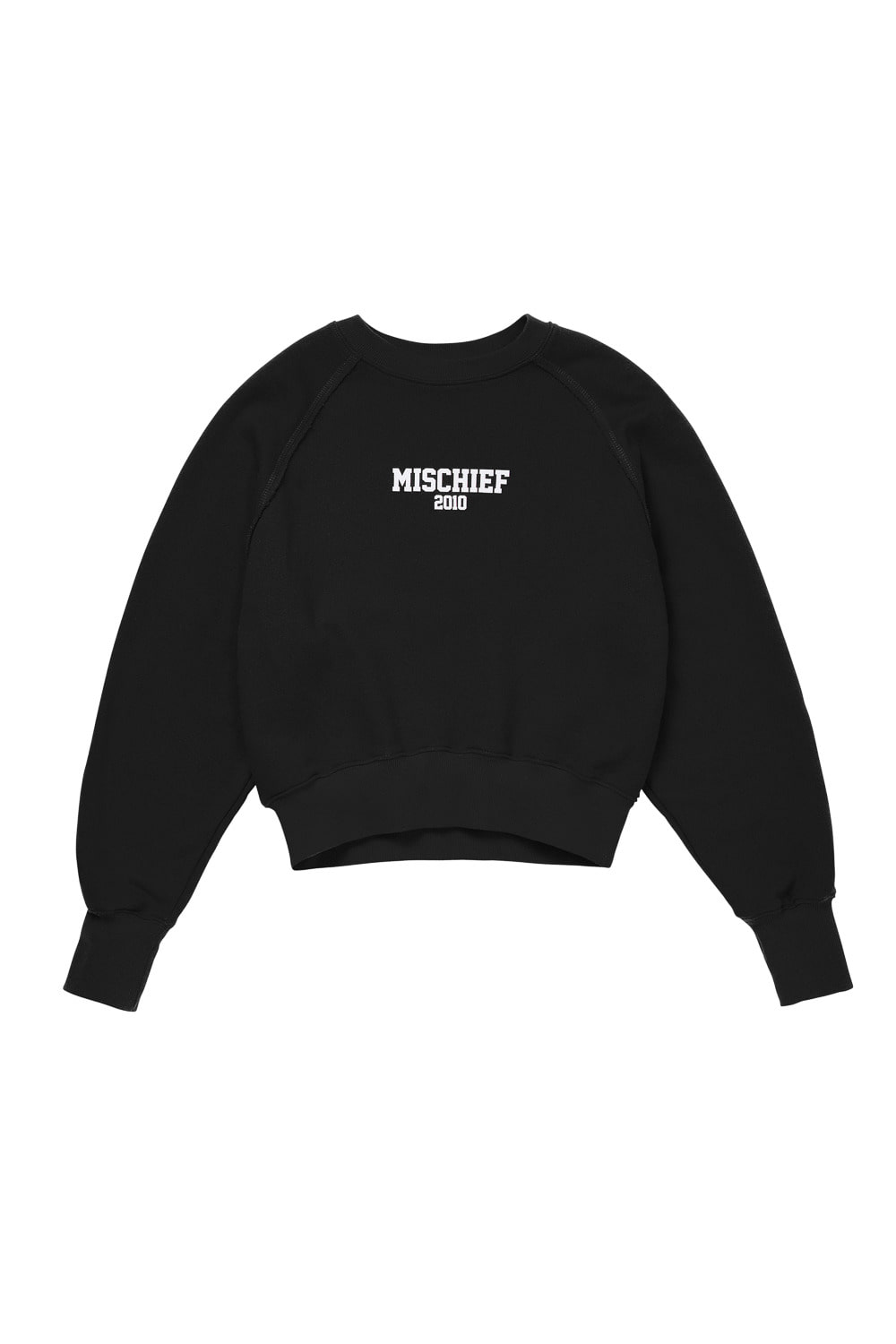 MSCHF 2010 CROPPED CREWNECK_black