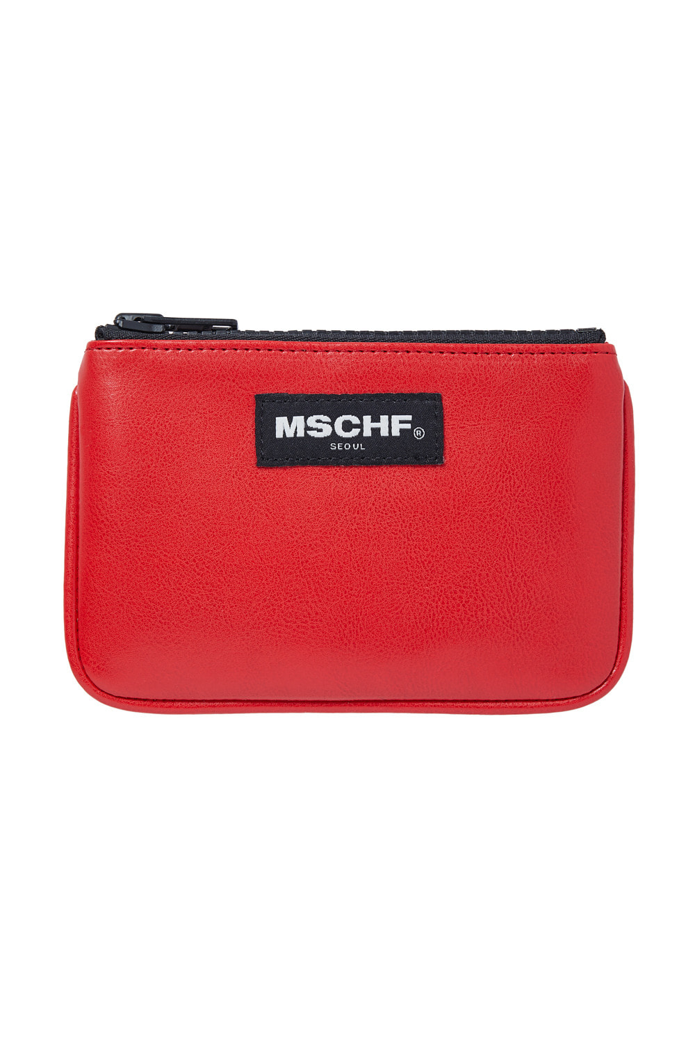 MINI ZIP WALLET_bright red