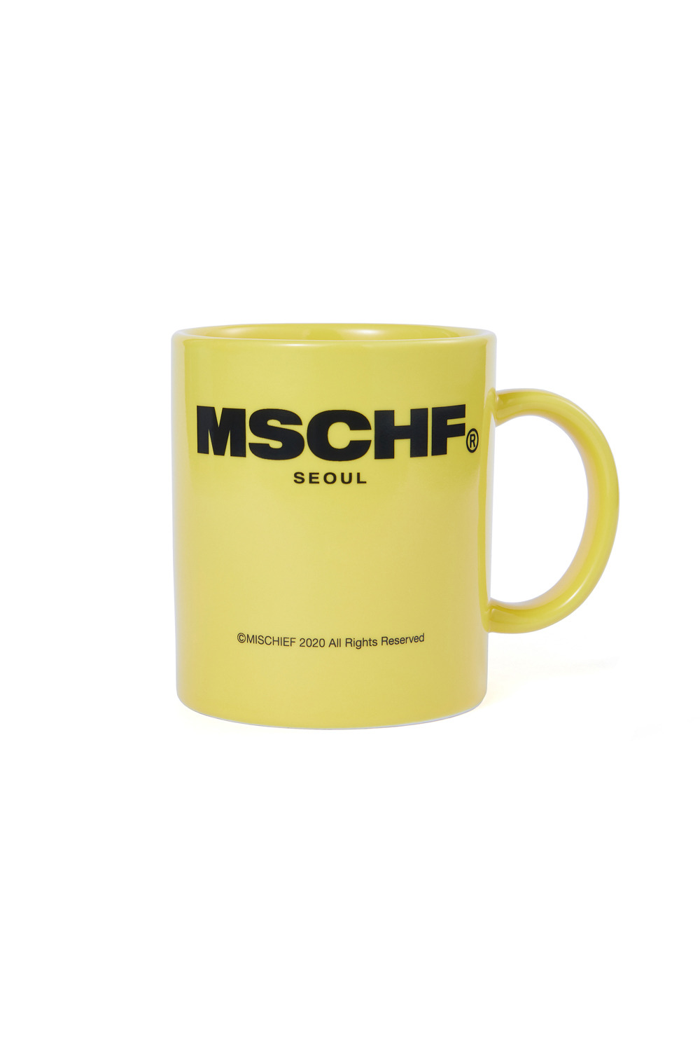 MUG CUP_yellow/black