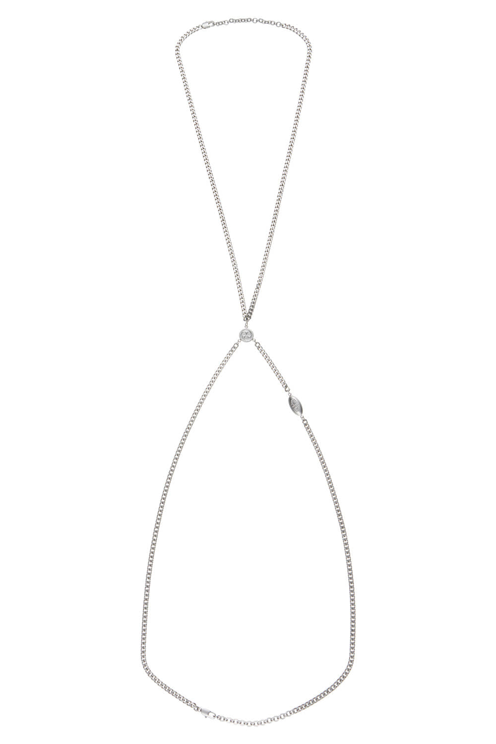PENDANT BODY CHAIN_silver