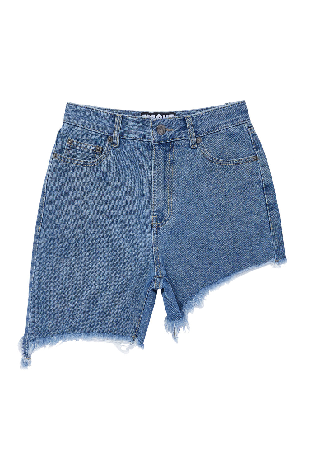 UNBALANCED SHORTS_blue