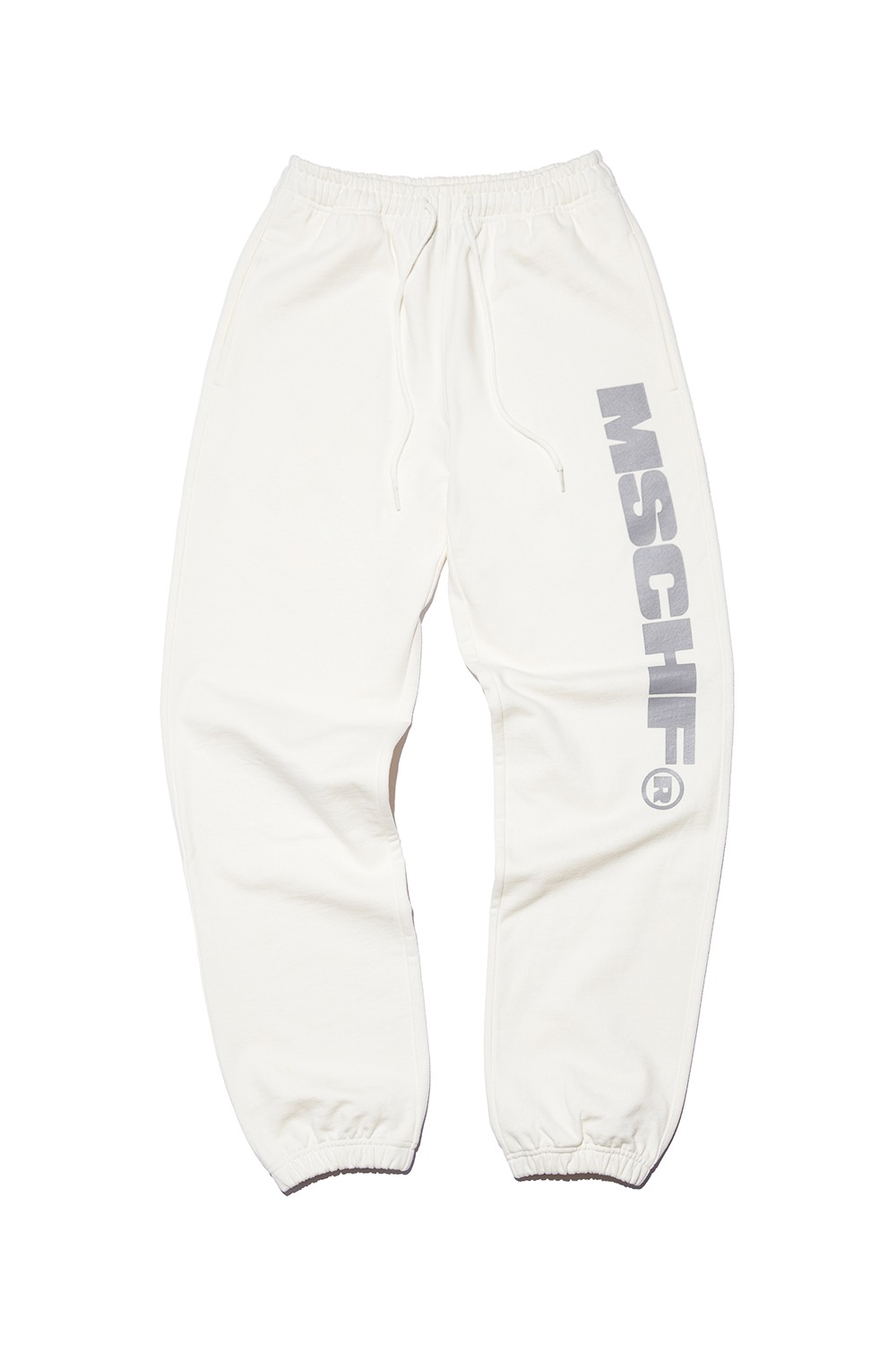 MSCHF SWEAT PANTS_white/gray