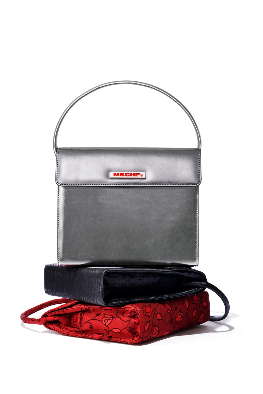 EVENING BAG_gunmetal