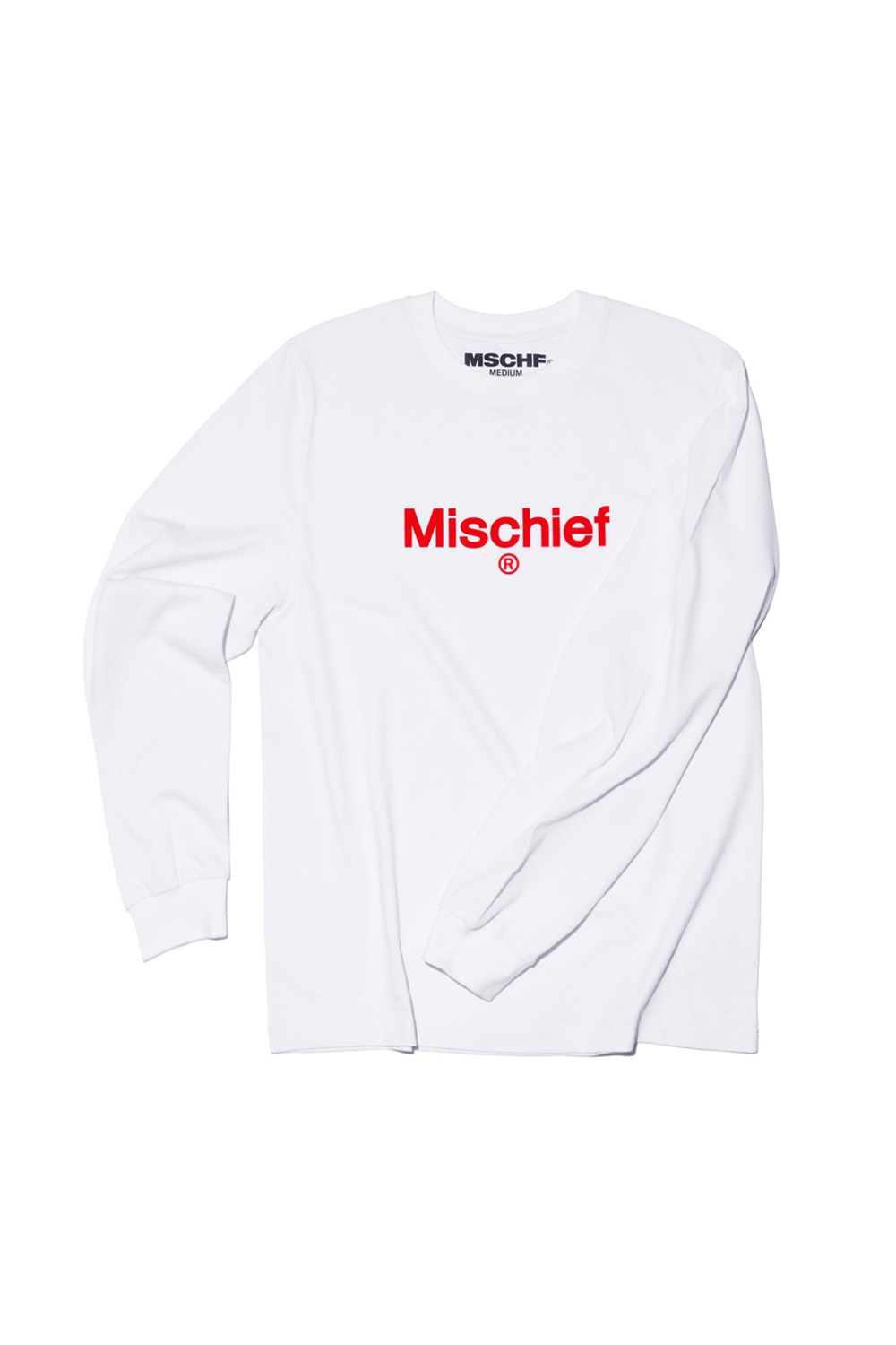 UNIFORM LONG SLEEVE TEE_white