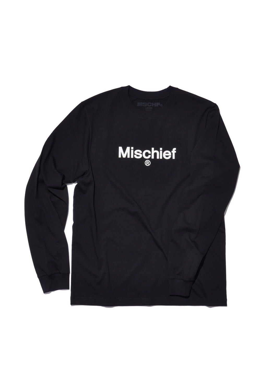 UNIFORM LONG SLEEVE TEE_black
