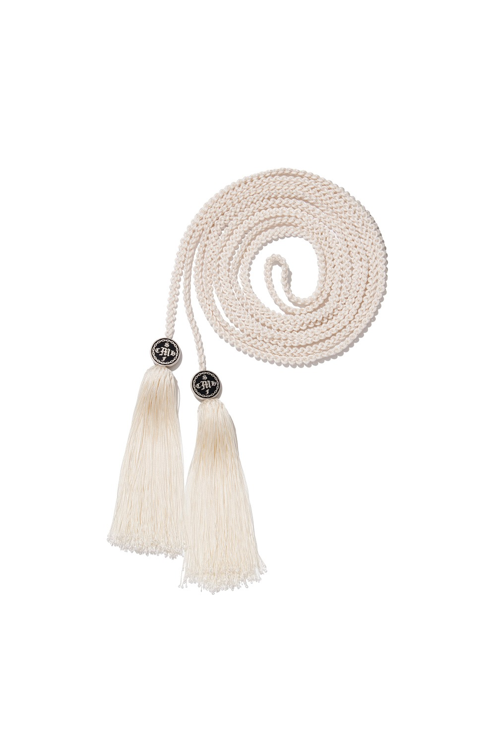 PROJECT MAGO_TASSEL STRAP_WHITE