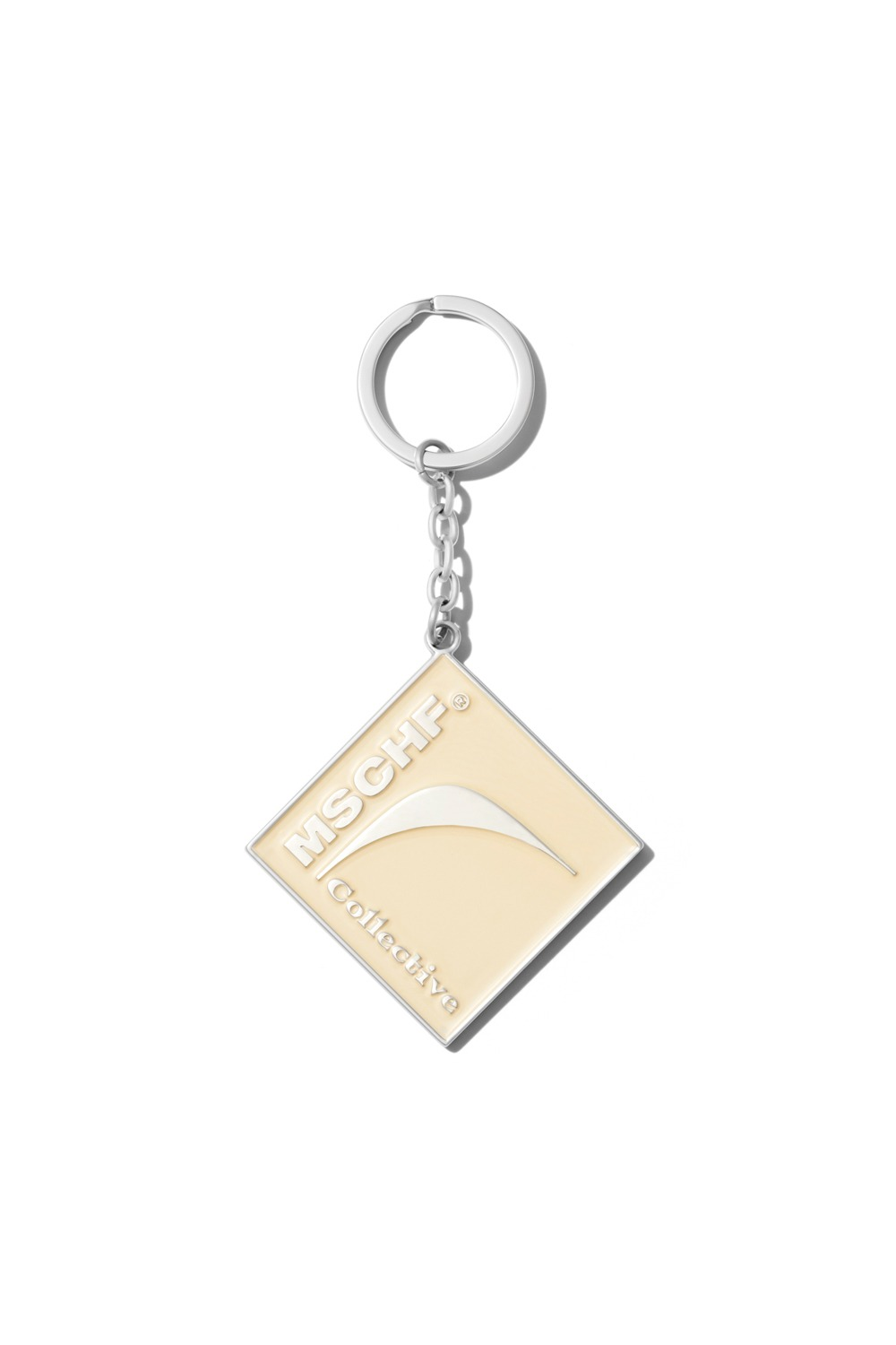 COLLECTIVE OG ENAMEL GLAZED KEY CHAIN_CREAM