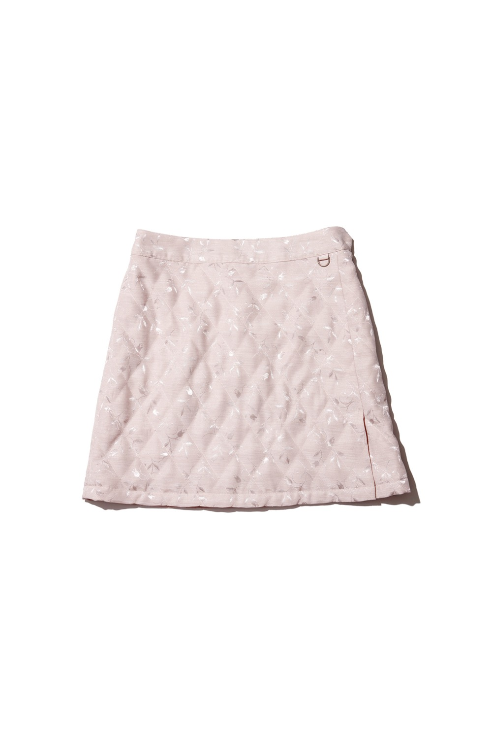 PROJECT MAGO_QUILTED SKIRT_CREAM