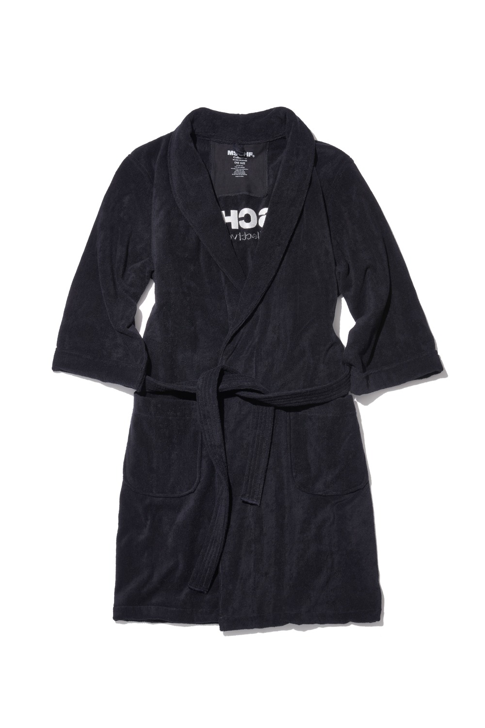 COLLECTIVE OG TOWEL ROBE_black