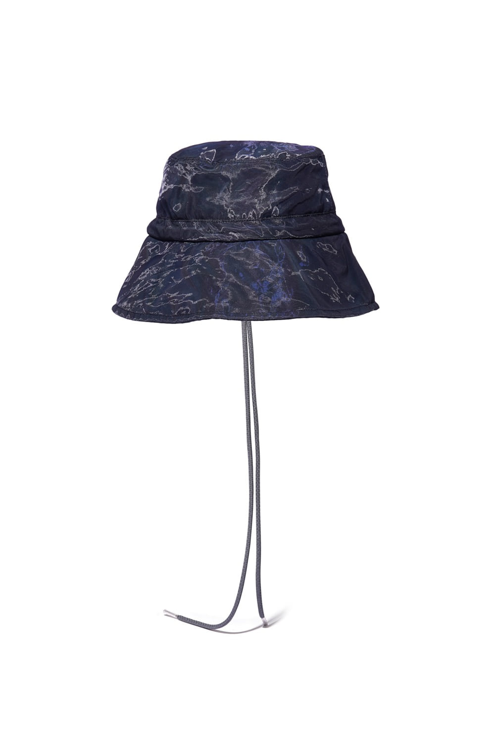 PROJECT MAGO_ORGANZA LAYERED 3M BUCKET HAT_DARK NAVY