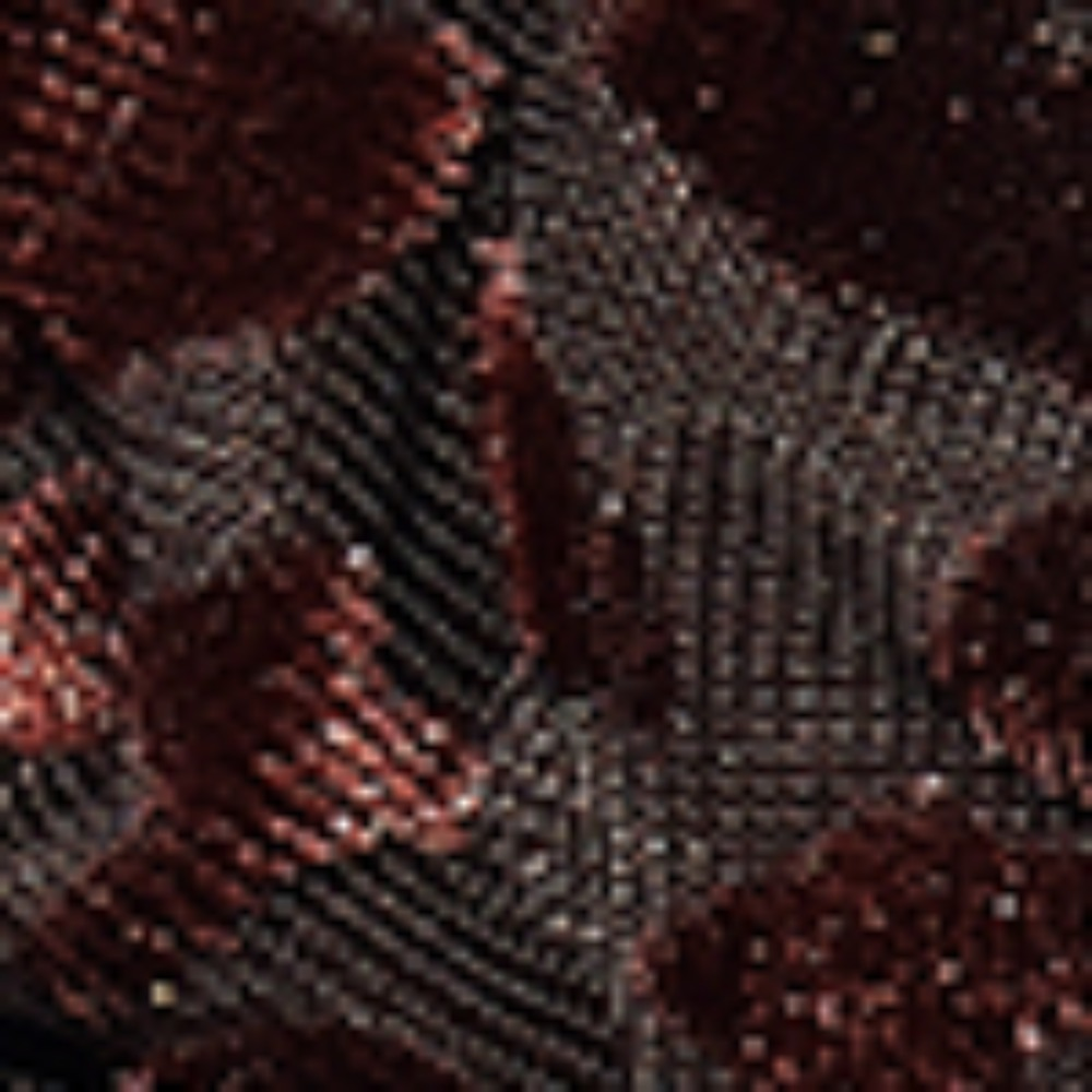 EVENING SCRUNCHIE_choco leopard velvet