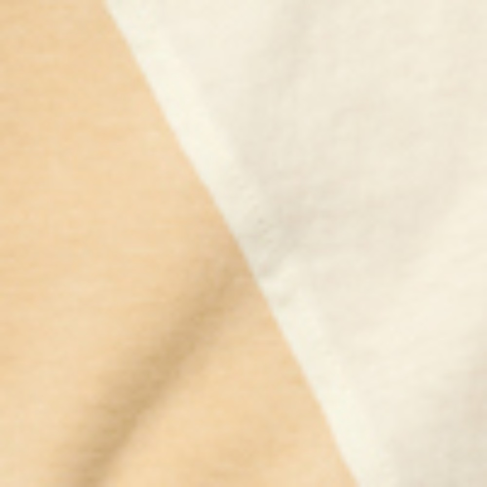 PROJECT MAGO_COLOR-BLOCKED JERSEY TOP_CREAM