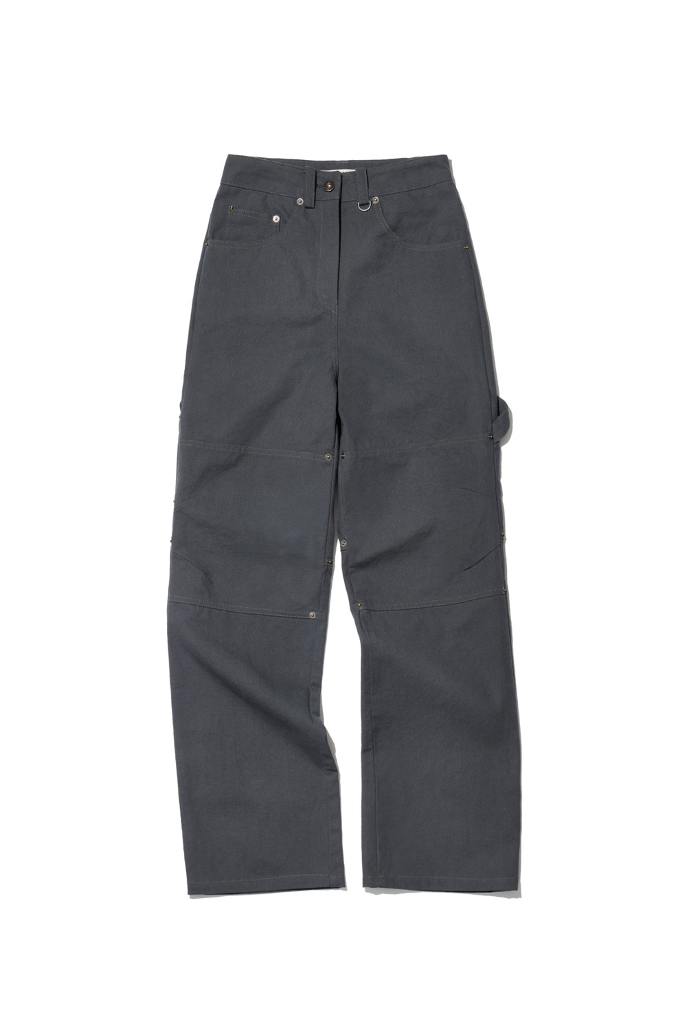 PROJECT MAGO_OXFORD CARPENTER PANTS_GREY